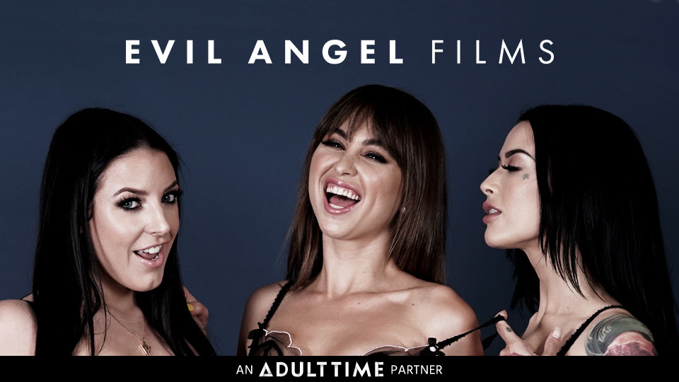 Adult Time Launches Evil Angel Films Channel, Five Scenes from I Am Angela, I Am Riley