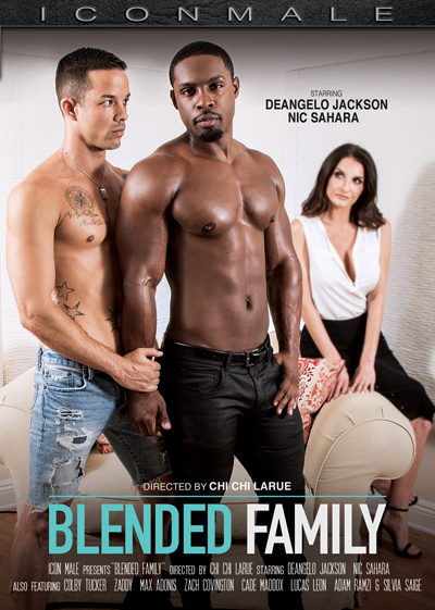DeAngelo Jackson and Nic Sahara Star in Icon Male's Blended Family