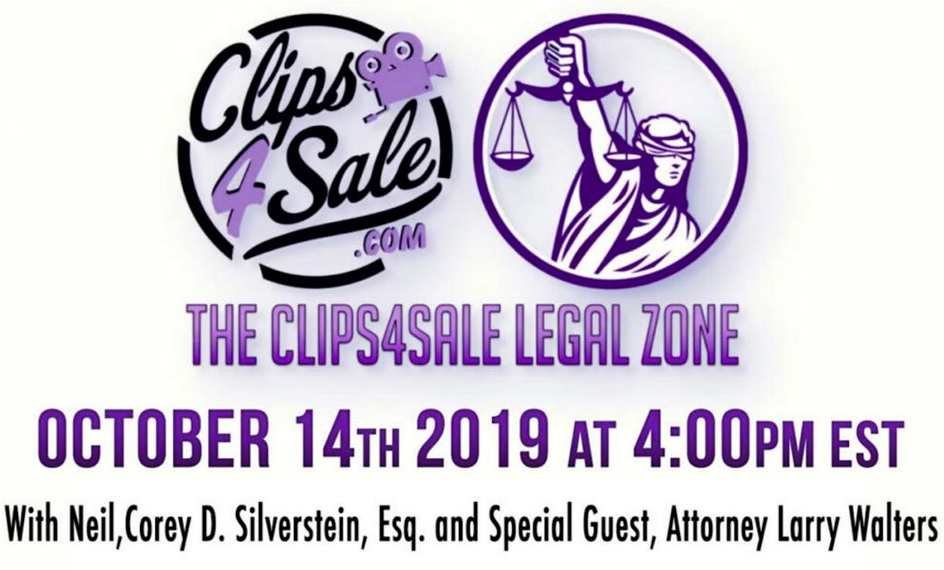 Clips4Sale's Legal Zone Is Back & You Don't Want to Miss It