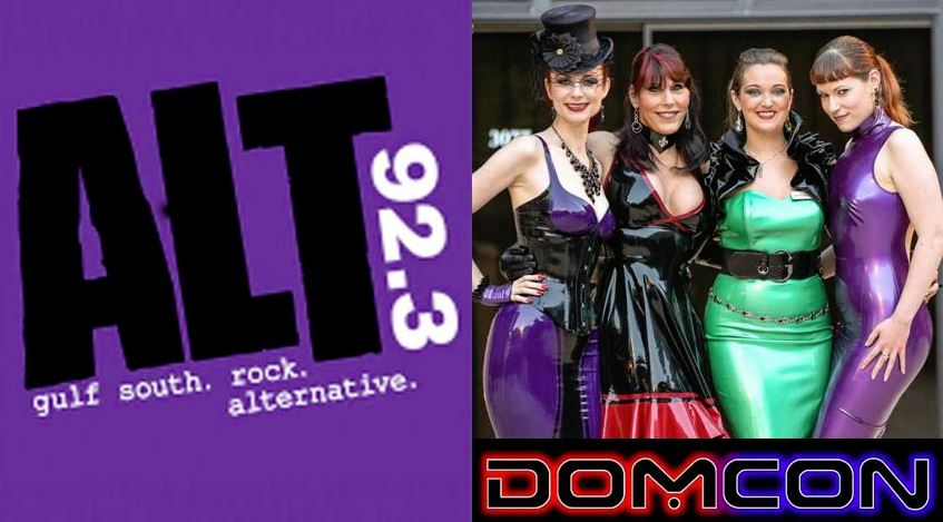 DomCon Storms WZRH, Alt 92.3 New Orleans