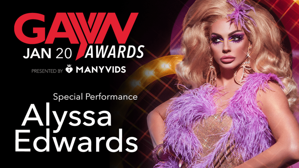 Alyssa Edwards to Perform Live at the 2020 GayVN Awards