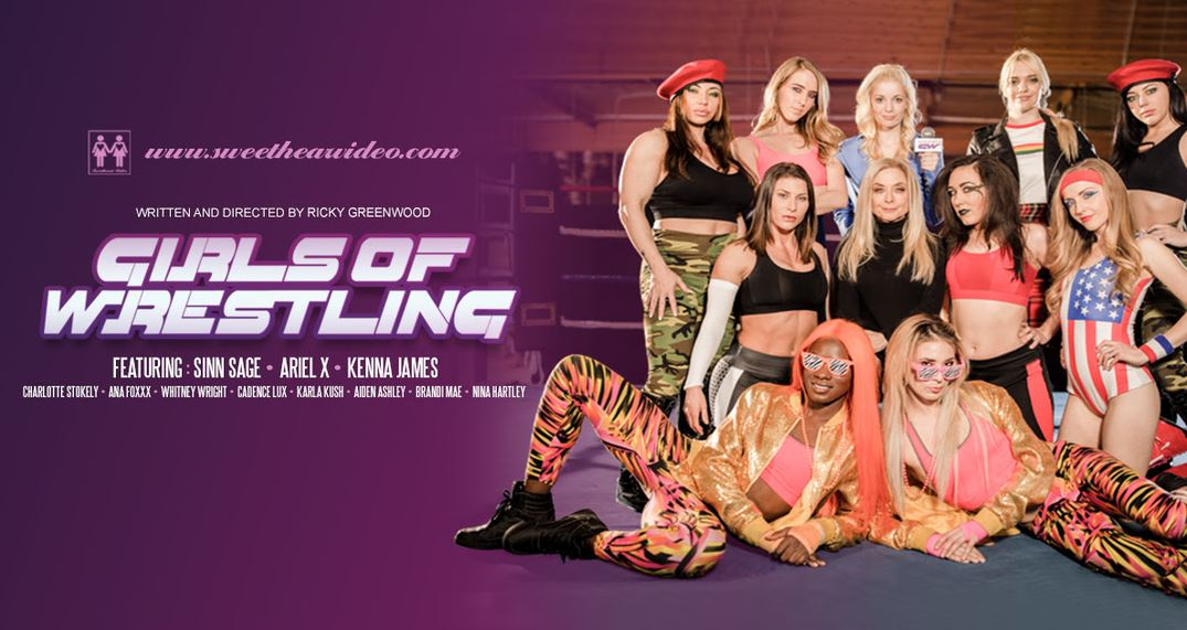 Sweetheart Video Releases Girls of Wrestling to Rave Reviews