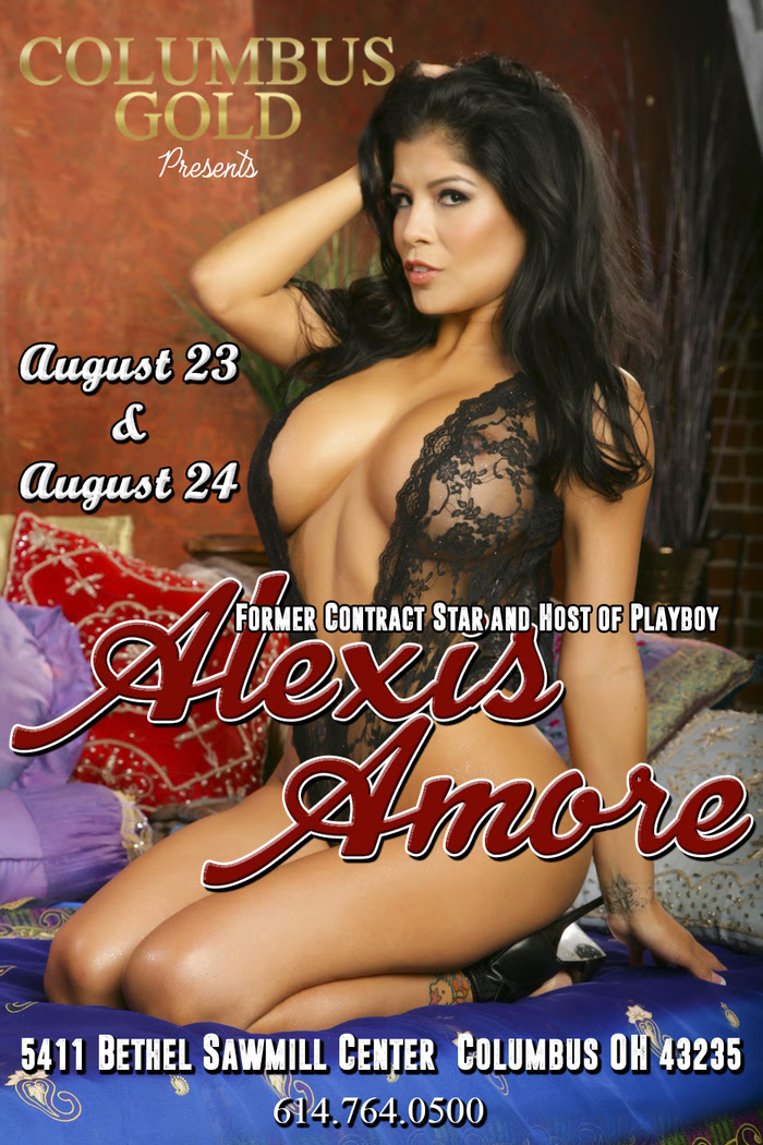 Alexis Amore Performs Live & Headlines at Columbus Gold Gentlemen's Club