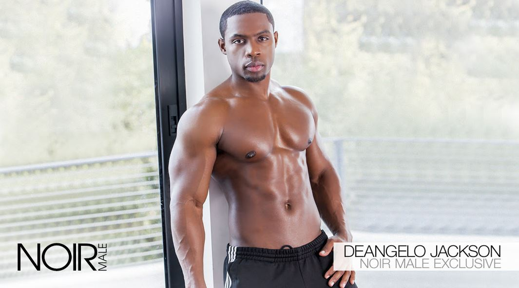 Deangelo Jackson Now the Face of Noir Male with Exclusive Contract