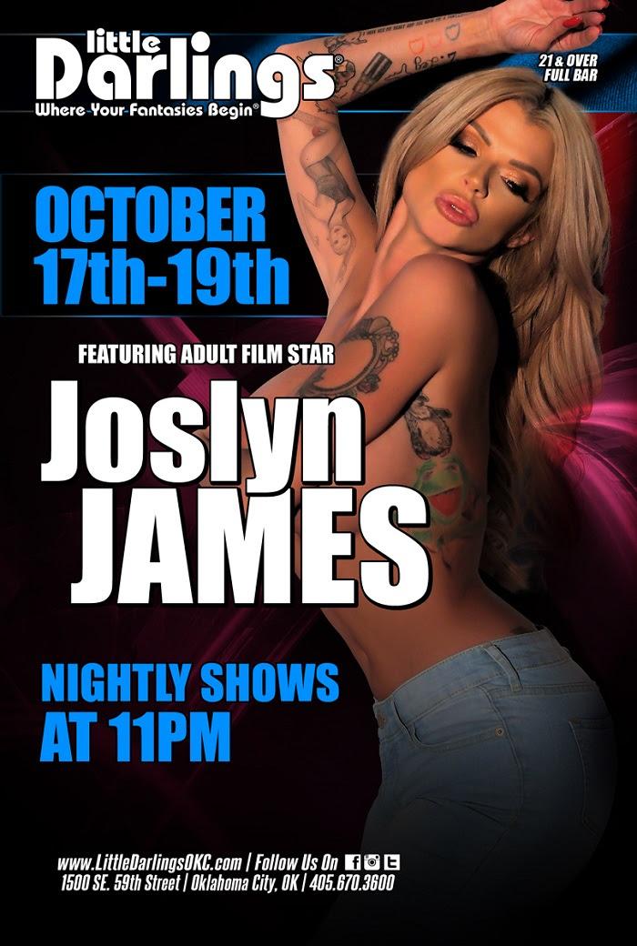 Joslyn James Performs Live & Headlines at Little Darlings Gentlemen's Club & Déjà vu Gentlemen's Club