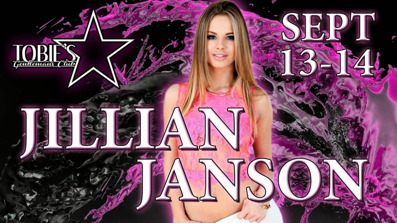 Tobie's Lounge Gets A Taste Of Jillian Janson September 13th and 14th