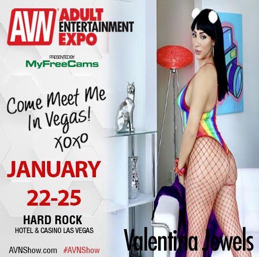 Valentina Jewels Appearing At AEE Next Week