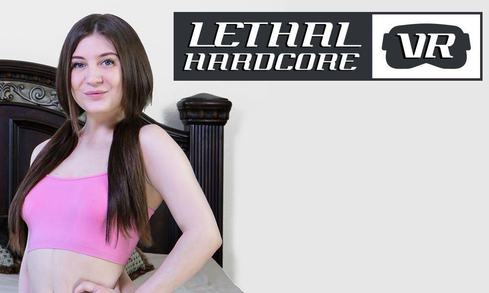 Lethal Hardcore VR Releases 'Cum In My Teen Cunt' Starring Jojo Kiss