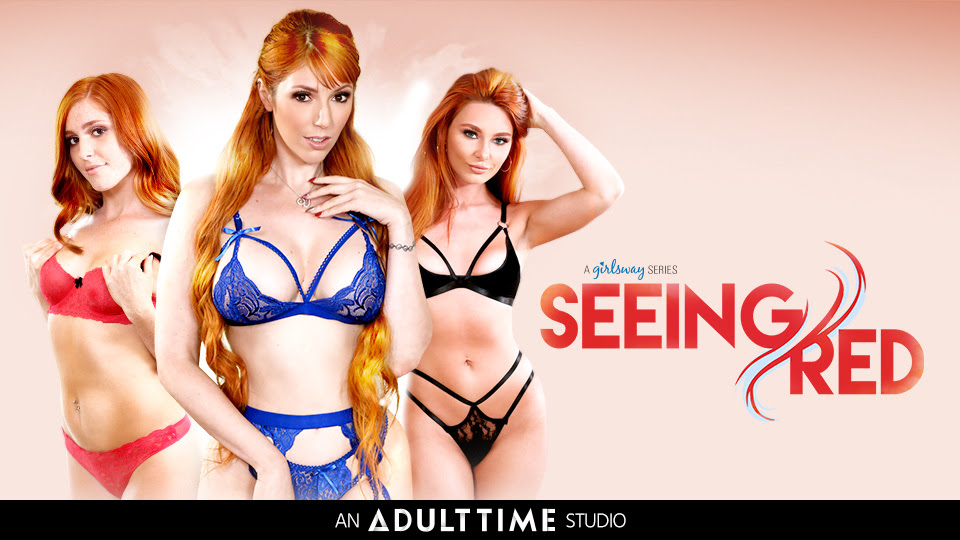 Girlsway Salutes the Fiery Allure of Flame-Haired Girls in Seeing Red