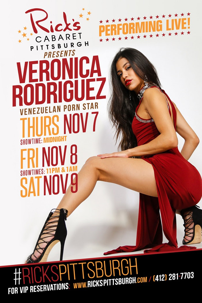 Veronica Rodriguez Performs Live & Headlines at Rick's Cabaret
