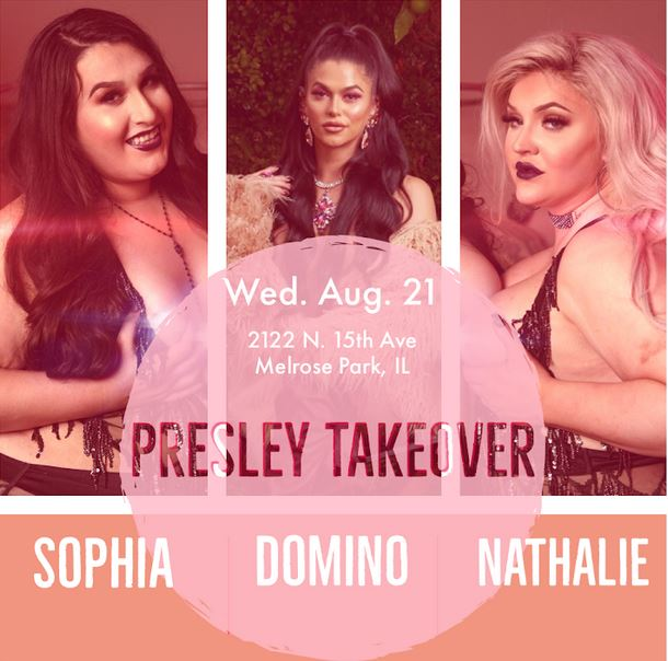 Domino Presley and Coven Co-Stars Nathalie and Sophia Presley to Appear at Red Light Nites