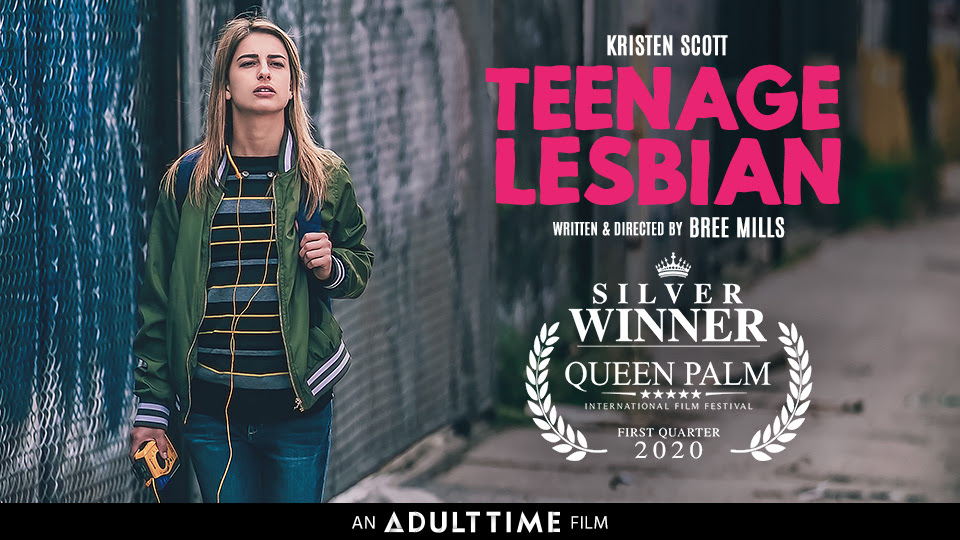 Adult Time's Teenage Lesbian Silver WINNER at Queen Palm International Film Festival