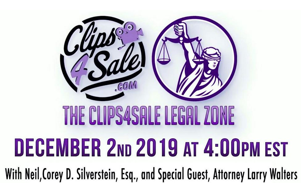 Clips4Sale's Legal Zone Covers Impeachment, Cyberbullying & End of Year Planning